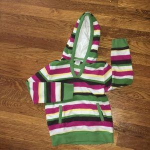Girls fleece hoodie size small